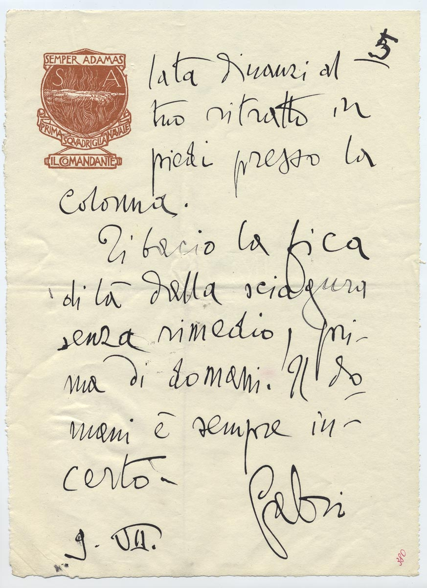 Briefe an die letzte klematis 1936 1938 hausbrandt - Col foglio rosa posso portare passeggeri ...