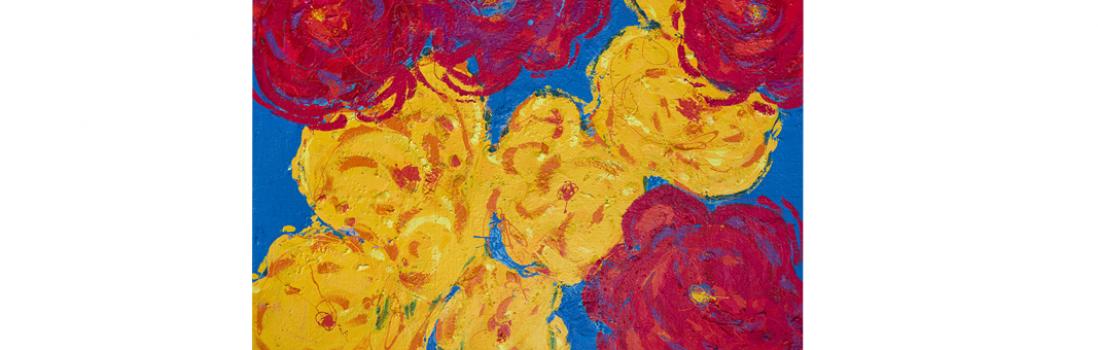 """Martino Zanetti dona al Vittoriale degli Italiani """"Le rose morlacche"""", l'opera simbolo della sua personalissima pittura e inaugura simbolicamente i festeggiamenti per i 300 anni dalla nascita di Maria Theresa d'Austria."""