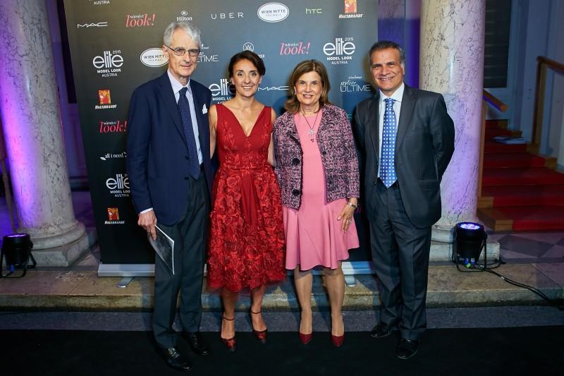 Martino Zanetti, Roberta Manganelli, Susanna Zanetti e Giorgio Marrapodi. Credits my Alexander Tumas