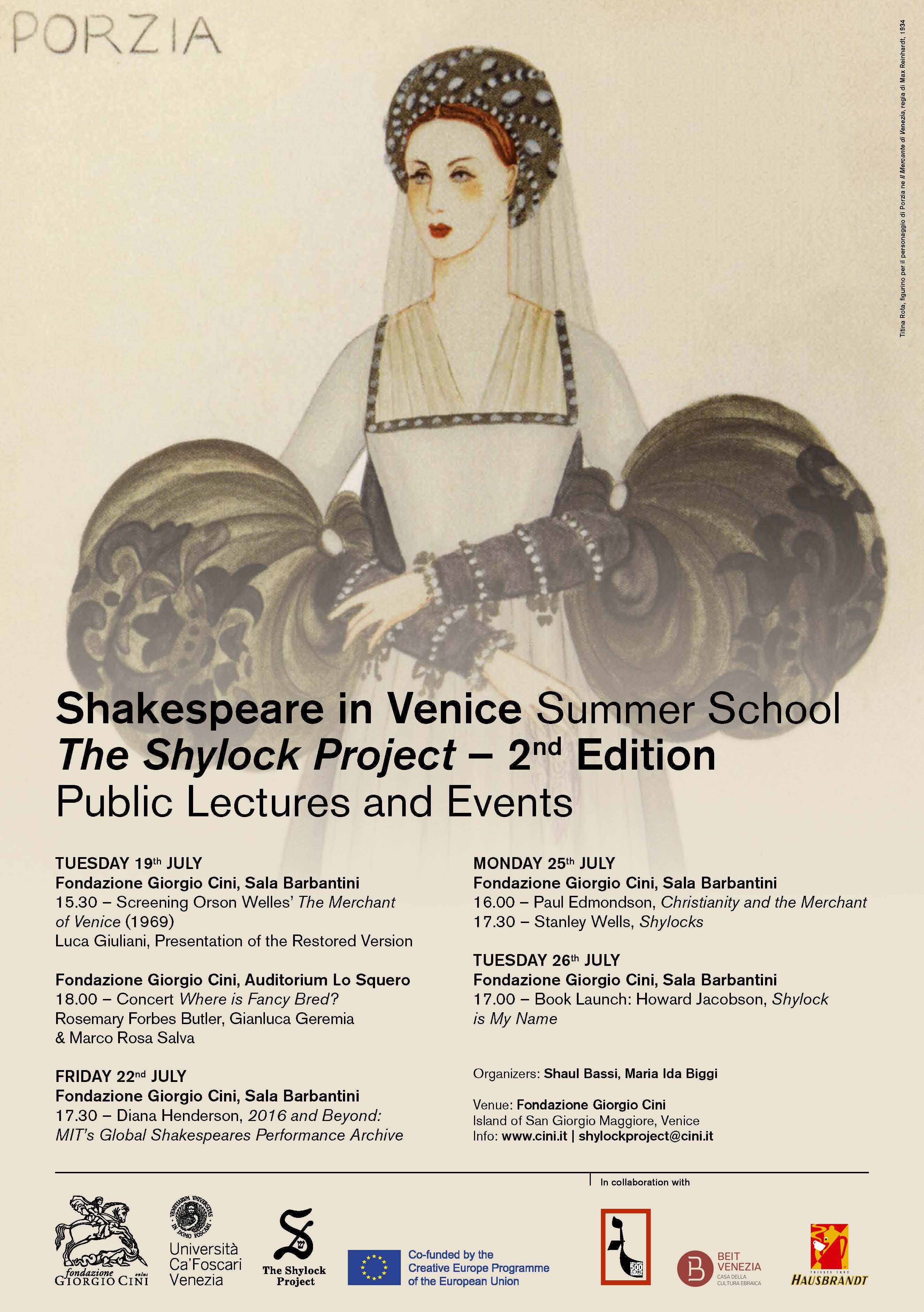 Shakespeare summer school